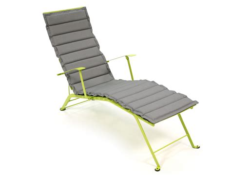 chaise bistro fermob outdoor otf cushion for fermob bistro chaise longue