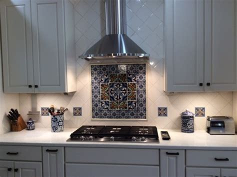 backsplash for kitchen i the mexican tile in our new white kitchen 5819