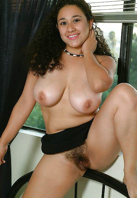 Latina With Big Natural Tits And Hairy Pussy Wants Your Cum 7 Pics