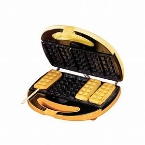 Shop Nostalgia Electrics Square Mini Waffle Maker at Lowes com