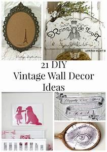 Diy vintage wall decor ideas the graphics fairy