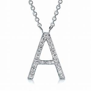 diamond letter pendants 100033 With diamond letter pendant necklace