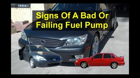 Top 5 Symptoms Or Signs Of A Bad Or Failing Fuel Pump, In