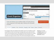 Best Top 20 WordPress Events Plugins WP Template