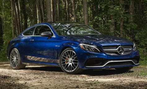 2017 Mercedes-amg C63 S Coupe Test
