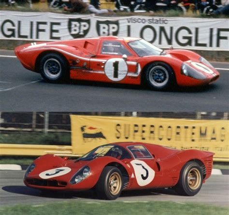 top  automotive rivalries   time