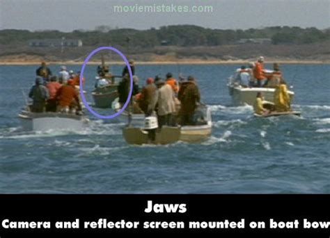 Jaws (1975) Movie Mistake Picture (id 92089