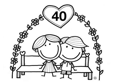 Kleurplaat 30 Jaar Getrouwd by Gefeliciteerd Met Jullie Trouwdag Felicitatiekaart