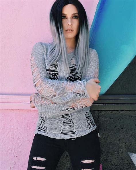 haarfarbe schwarz grau 15 ombre haarfarbe ideen neue besten frisur