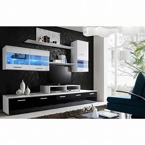 Meuble Design Tv Mural : meuble tv mural design 39 logo 250cm blanc ~ Teatrodelosmanantiales.com Idées de Décoration