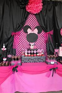 "MINNIE Mouse party printables "" Candy Jar Labels Black and ...