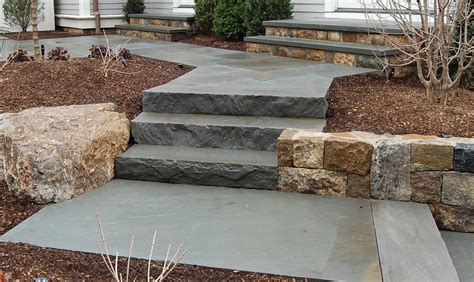 flagstone step natural stone steppers flagstone wallstone product categories friedges landscaping inc