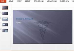 caduceus symbol medical powerpoint template With medical themed powerpoint templates