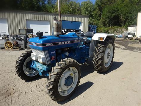 ford 3910 iii utility tractor mint original condition mfwd 4x4 diesel 3pt pto ebay