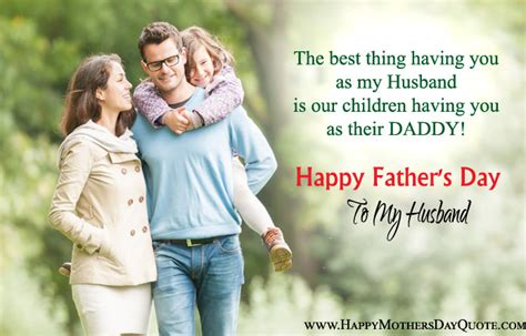 husband fathers day quotes wife