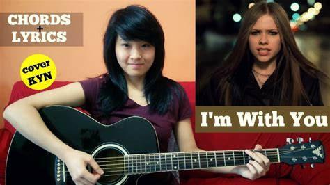 I'm With You (acoustic Cover Kyn) + Lyrics