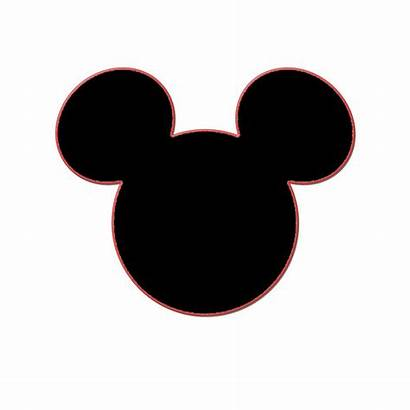 Mickey Mouse Head Clipart Silhouette Cut Clipground