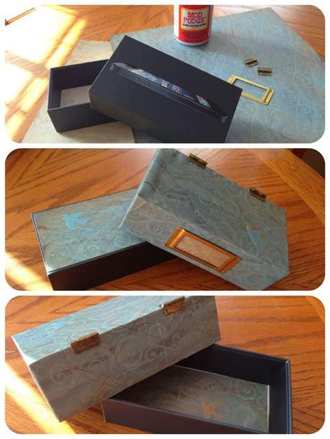 repurposed iphone box  crafts pinterest repurposed