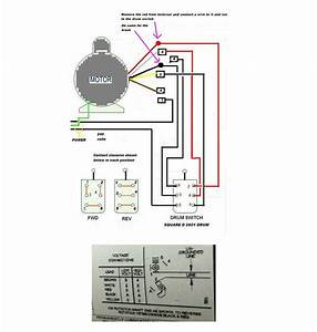 Grainger Drum Switch 115 Volts Wiring Diagram