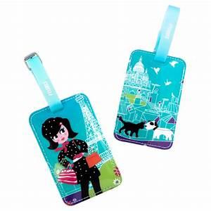 Faire Ses étiquettes : porte etiquette de bagage original ta voyage estampe pylones ~ Melissatoandfro.com Idées de Décoration