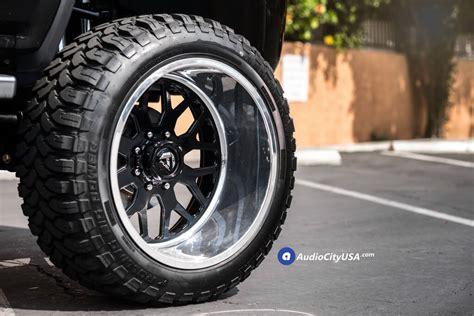 fuel forged wheels ff gloss black face  polish