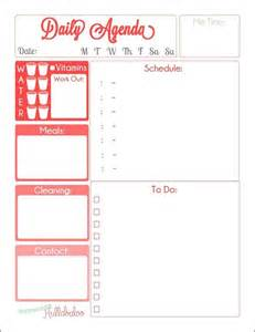 free wedding planner binder free daily agenda planner printables