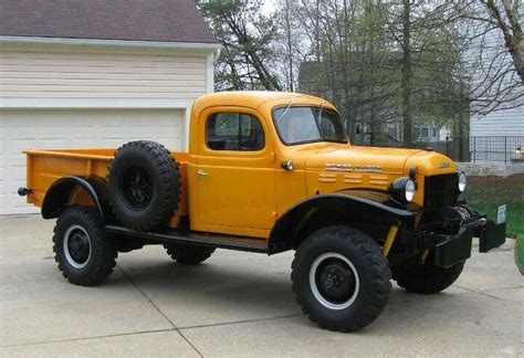 picture dodge power wagon truck classic awesome