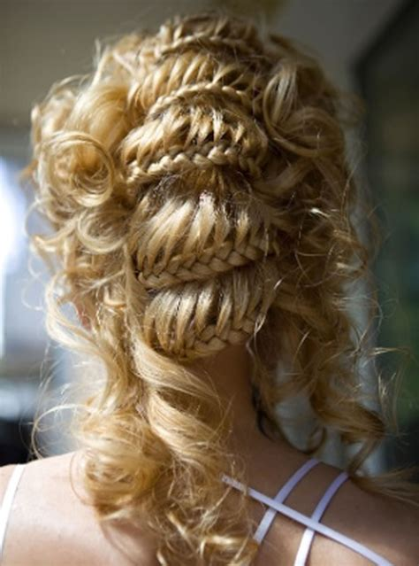 braided hairstyles  creative  easy braids hair