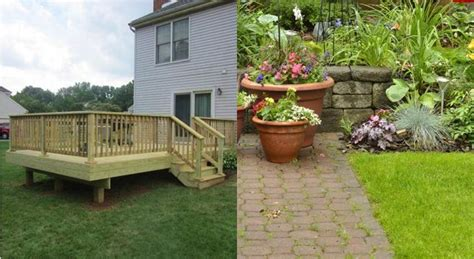 patio vs deck patios vs decks what s the difference