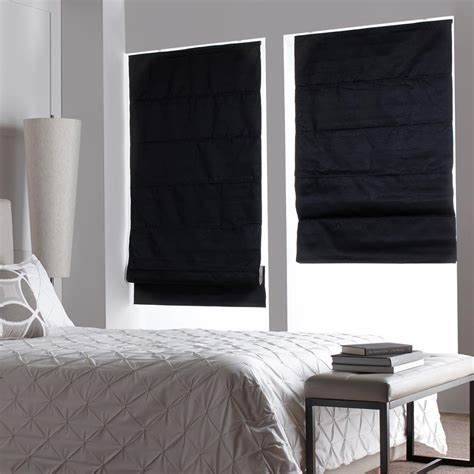 create  peaceful ambient  roman shades interior