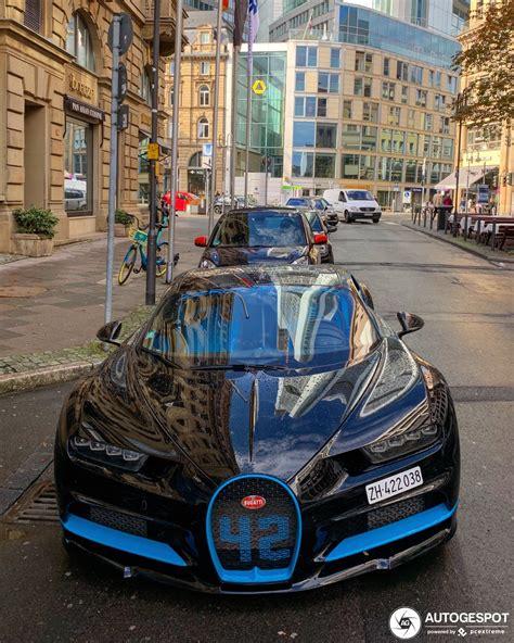Yeah good for him, we're real happy for him. Bugatti Chiron Zero-400-Zero Edition - 1 November 2019 - Autogespot