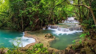 Forest Nature Waterfall Water Rainforest Natural River