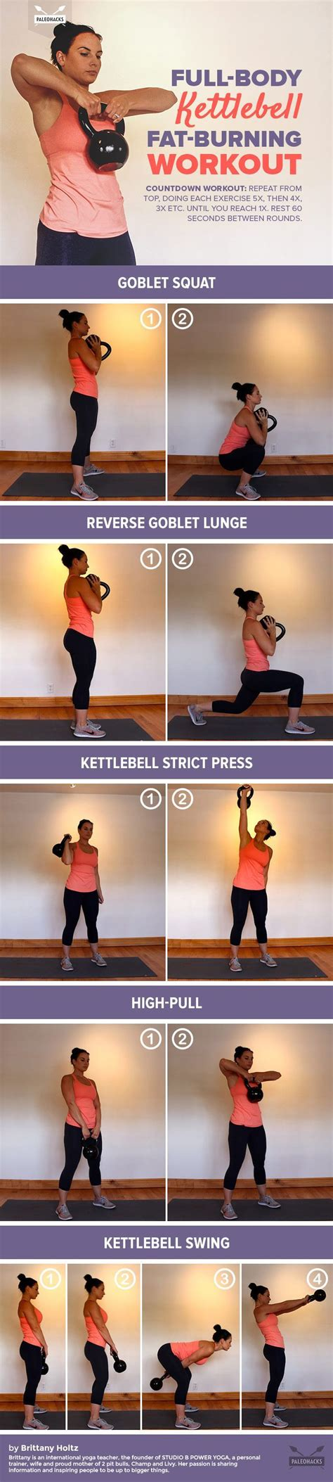 kettlebell workout fat body burning exercises workouts trening fitness kettle bell exercise challenge entrenamiento routines upper burn belly gym plan