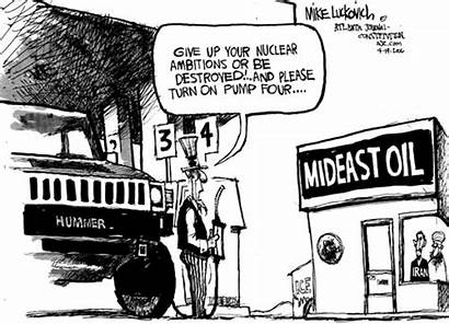 Cartoon Pump Gas Cartoons Iran America Oil