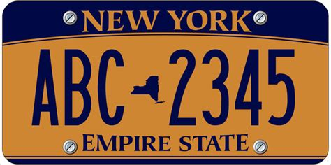 Vanity Plates Ny by New York Drivers Required To Pay 25 For New License