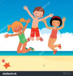 Cartoon Beach Clip Art