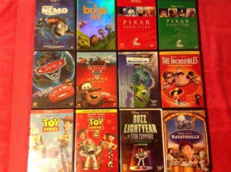 Walt Disney Pixar Dvd Lot Bugs Life Finding Nemo Monsters