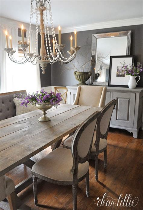 chic dining room wall decor dear lillie kendall charcoal in our dining room Rustic