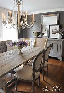 Dear lillie kendall charcoal in our dining room for Best brand of paint for kitchen cabinets with wall art for dining rooms