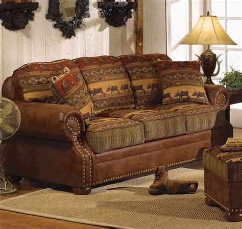 country sofa set best rustic sofas and couches for the cottage furniture home design ideas