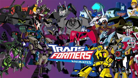 Transformers Animated Wallpaper - madman entertainment releasing transformers animated and