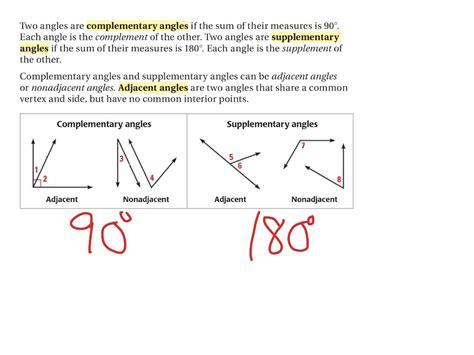 Showme  Supplementary Angles