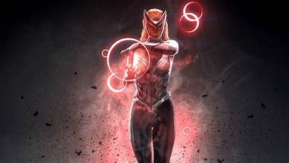 Scarlet Witch Marvel Wallpapers 4k Superhero Parede