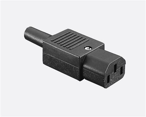 Bulgin Px0587 Iec Mains Connector C13 Type, Female, Cable