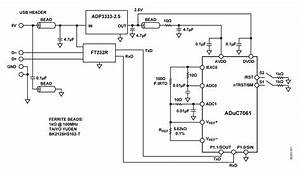 Aduc7061 And External Rtd To Build A Usb