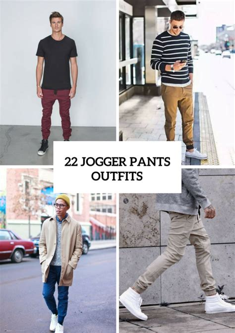 Cool Men Outfits With Jogger Pants Styleoholic