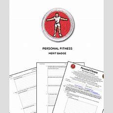 Personal Fitness Merit Badge (worksheet & Requirements