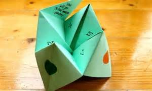 How to Make Paper Fortune Teller Games