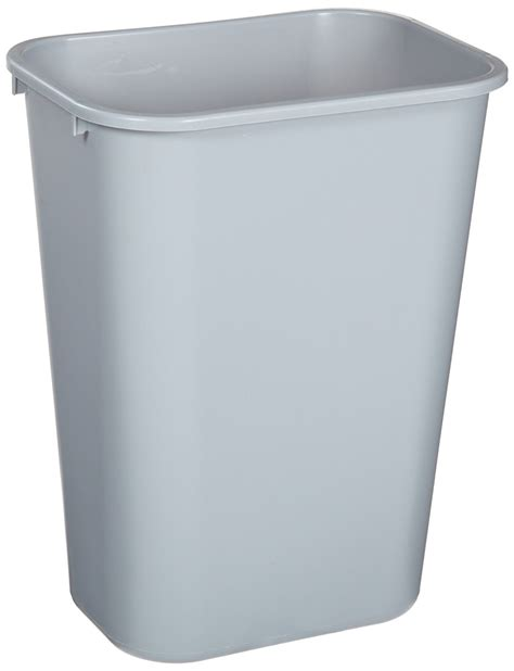 small rectangular bathroom trash can rubbermaid bathroom wastebasket plastic trash can bin