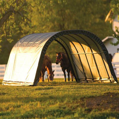 shelterlogic run in sheds shelterlogic weidezelt run in shed 22 57m 178 inkl